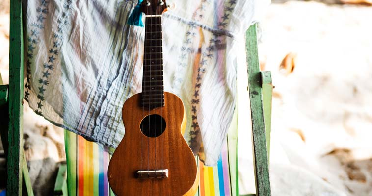Rewards Of Self-care, Guitar Outdoors