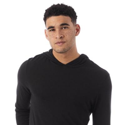 green fashion brands, Alternative Apparel long sleeve hoodie