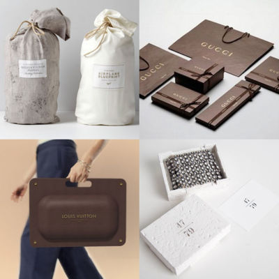 luxury packaging, sustainable materials