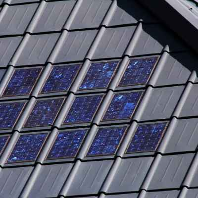 eco-friendly home, solar roof